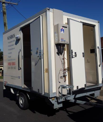 WOSHBOX Portable Bathroom Hire Australia